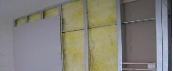 实验室轻钢龙骨石膏板隔墙